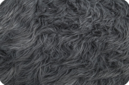 Luxury Shag Fur Gray