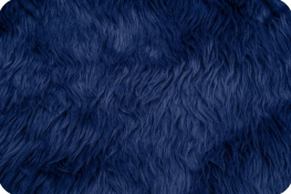 Luxury Shag Fur Navy