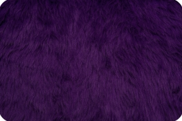 Luxury Shag Fur Purple