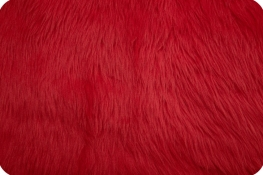 Luxury Shag Fur Red