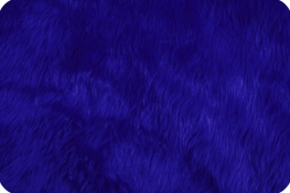 Luxury Shag Fur Royal Blue