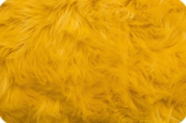Luxury Shag Fur Yellow