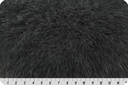 Monkey Shag Fur Charcoal