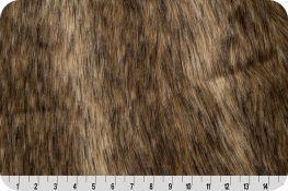 Mountain Coyote Fur Brown