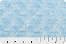 Luxe Cuddle® Rose Baby Blue