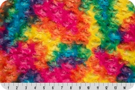 Luxe Cuddle® Rainbow Rose Vibrant