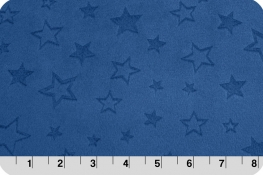 Embossed Star Cuddle® Midnight Blue