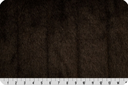 Tip-Dyed Mink Fur Brown