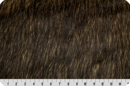 Wolf Fur Brown/Black