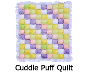 Free Pattern For Baby Puff Quilt : Shanon Fabrics Free Cuddle Fabric Paterns