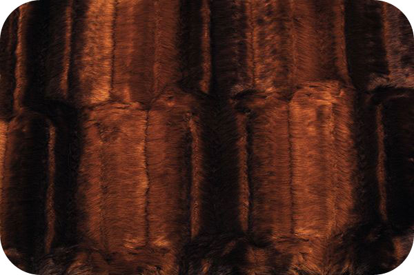 Embossed Beaver Brown