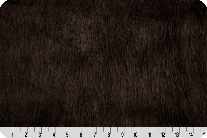 Luxury Shag Fur Brown