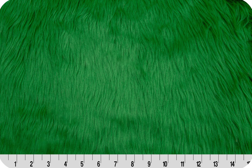 Luxury Shag Fur Emerald