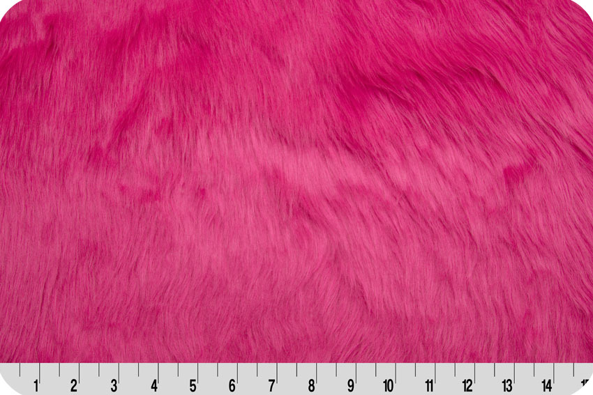 Luxury Shag Fur Hot Pink