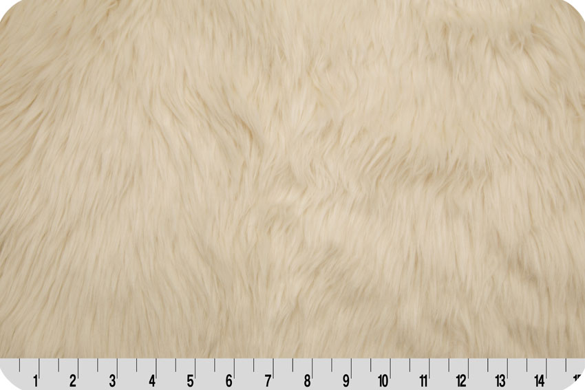 Luxury Shag Fur Ivory