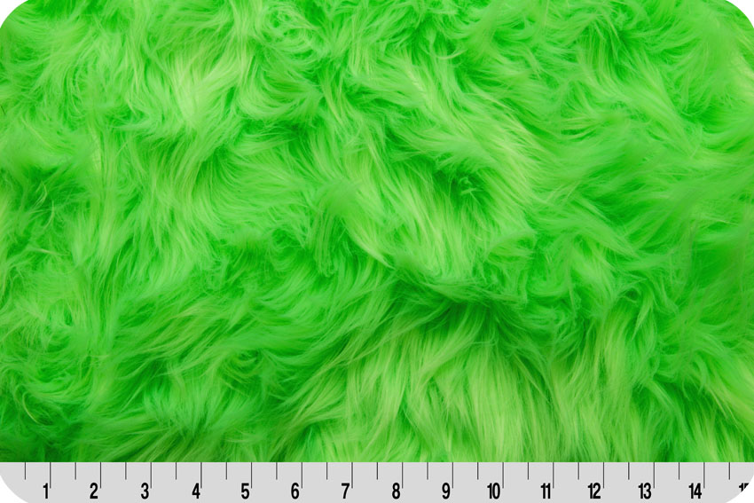 Luxury Shag Neon Green