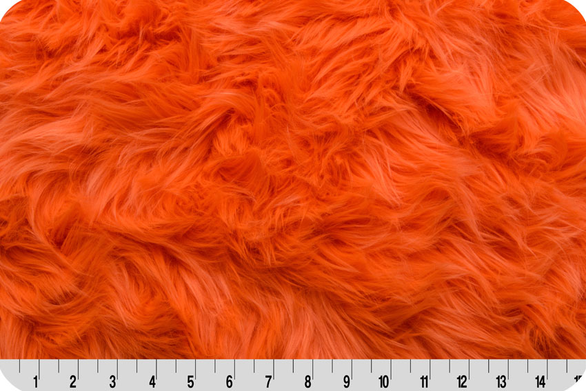 Luxury Shag Neon Orange