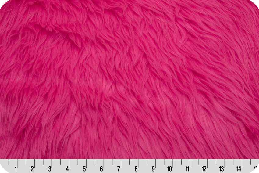 Luxury Shag Neon Pink