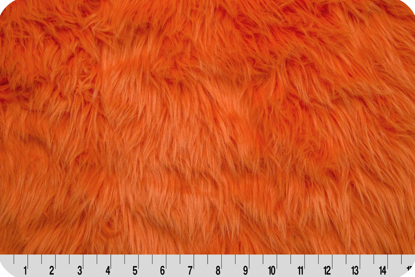 Luxury Shag Fur Orange