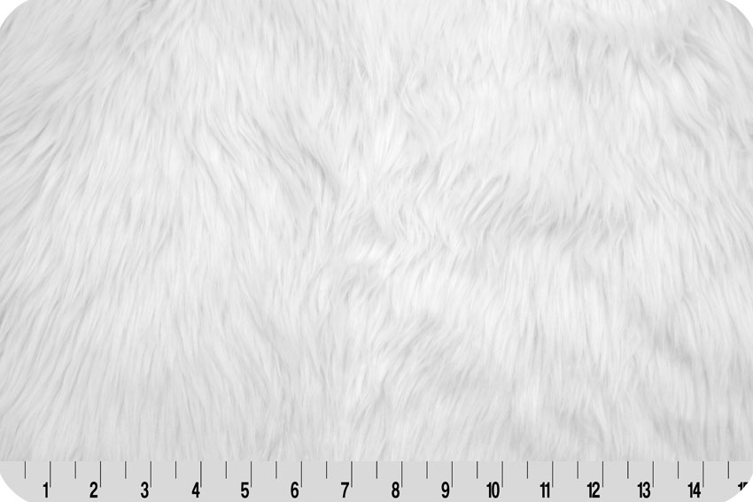 Luxury Shag Fur White