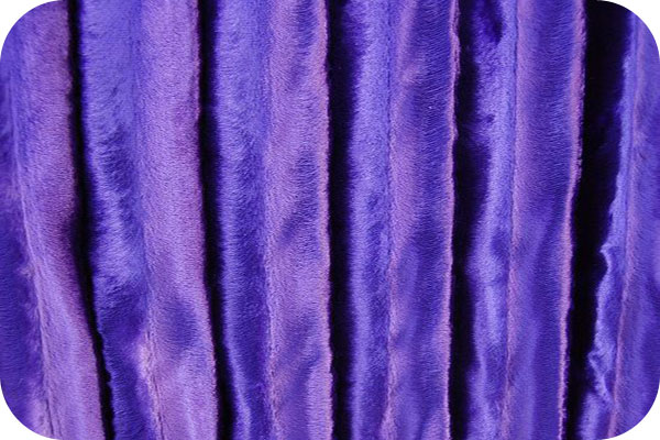 Minky Velvet Bright Purple