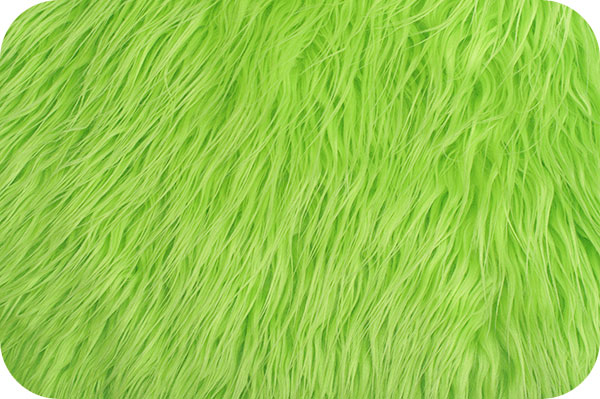Mongolian Faux Fur Lime