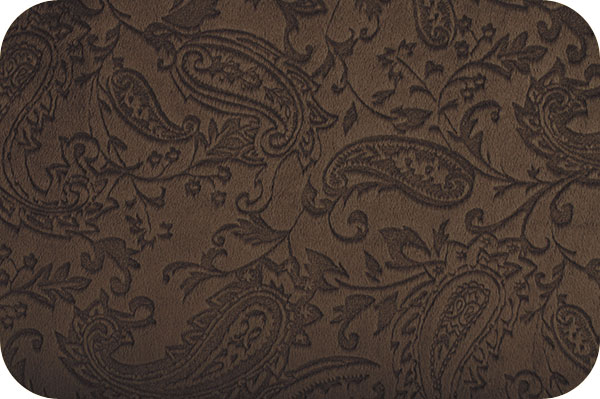 Paisley Cuddle Brown