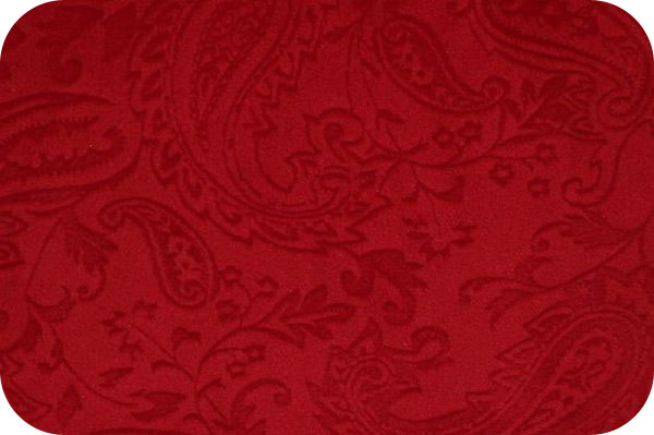 Paisley Cuddle Red