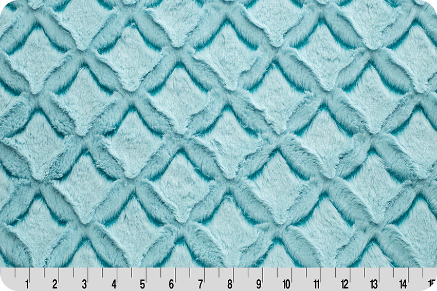 Luxe Cuddle® Frosted Gem® Teal/Aqua