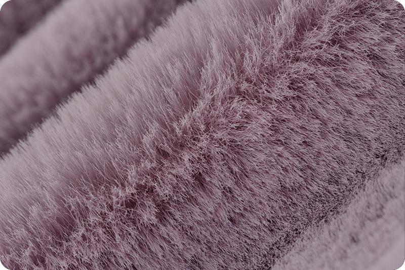 15mm Pile Luxe Cuddle\u00ae Frost Elderberry MINKY From Shannon Fabrics